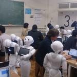 ロボット【Pepper(ペッパー)】touch&tryとワークショップ@アルデバラン秋葉原アトリエ