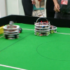 ロボットのサッカー大会@ロボスクエア(福岡)