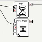 ロボット【Pepper(ペッパー)】待機状態のタブレットに画像を表示